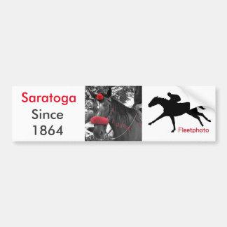 Saratoga バンパーステッカー