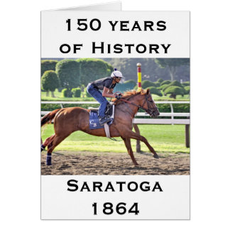 Saratoga 150の間のチャドブラウンのトレーニング カード