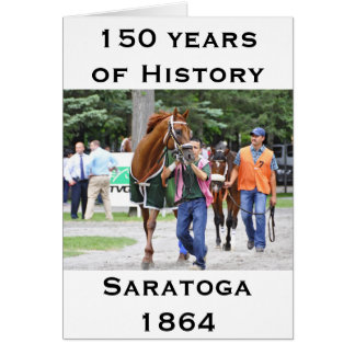 Saratoga 150 -一般公開日 カード