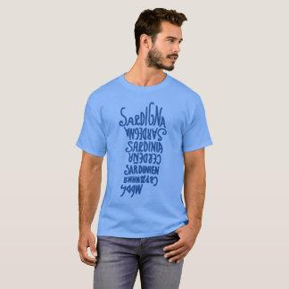 Sardegnaの言語 Tシャツ
