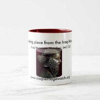 Sargonの行方不明のヘッドマグ ツートーンマグカップ