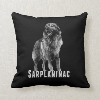 Sarplaninac Sharplaninatzの装飾用クッション クッション