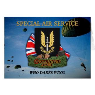 SAS sasの退役軍人の獣医カード カード