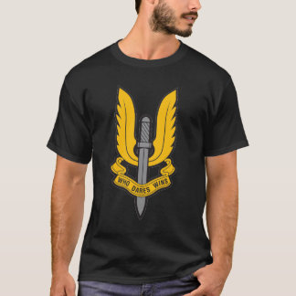 SAS WHOは勝利SASのTシャツを敢えてします Tシャツ