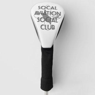 SASCのゴルフカバー ゴルフヘッドカバー
