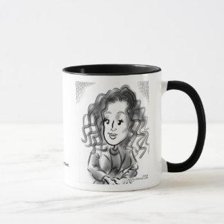SASFNYの風刺漫画のマグ13b マグカップ