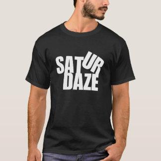 """SAT URの眩惑の""""土曜日""""のはっきりしたなティー Tシャツ"""