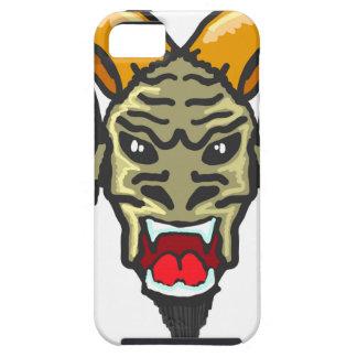 Satanの角状の獣のスケッチ iPhone SE/5/5s ケース