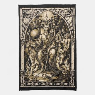 Satanはあや織りの綿の16x24を即位させました- キッチンタオル
