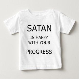 Satanは幸せと…です ベビーTシャツ