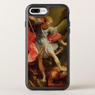 Satanを敗北させている大天使ミハエル オッターボックスシンメトリーiPhone 8 Plus/7 Plusケース