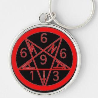 Satanigram キーホルダー