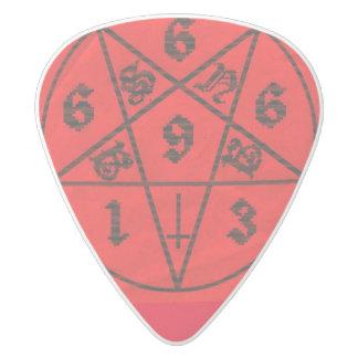 Satanigram ホワイトデルリン ギターピック