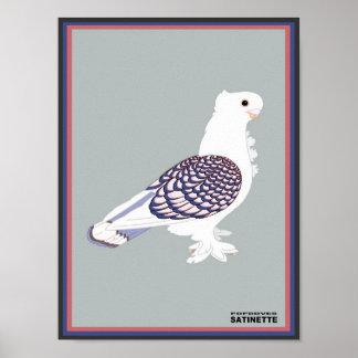 Satinetteのプリント ポスター