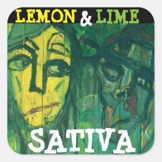 SATIVAレモン及びライム スクエアシール