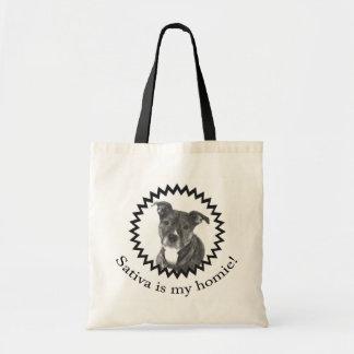 Sativa Homieの私のトートはです トートバッグ