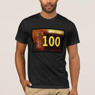 SATSの100%年のTシャツ Tシャツ