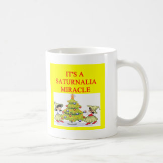 SATURNALIAの異教徒の休日 コーヒーマグカップ