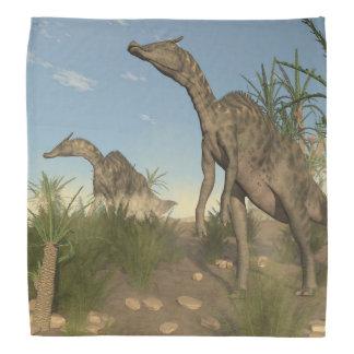 Saurolophusの恐竜- 3Dは描写します バンダナ