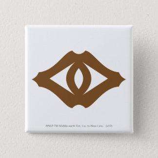 Sauronの目 5.1cm 正方形バッジ