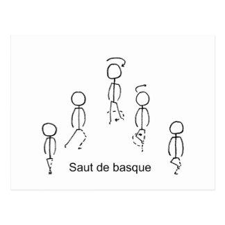 Saut deのバスク語 ポストカード