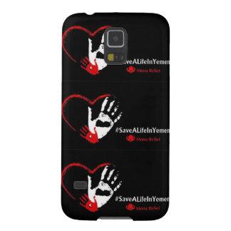 #SaveALifeInYemenカバー Galaxy S5 ケース