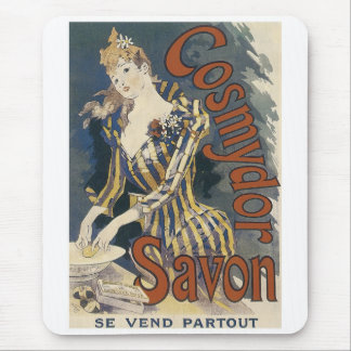 Savonの石鹸ポスター マウスパッド