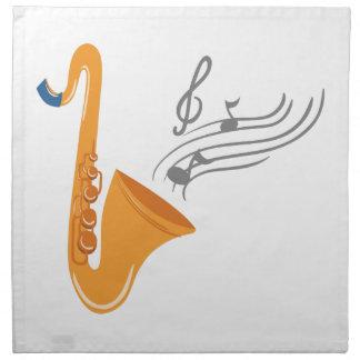 Saxophonのサクソフォーンのサクソフォーン ナプキンクロス