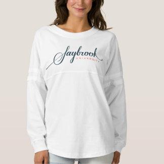 Saybrookの女性の精神のジャージーのワイシャツ スピリットジャージー