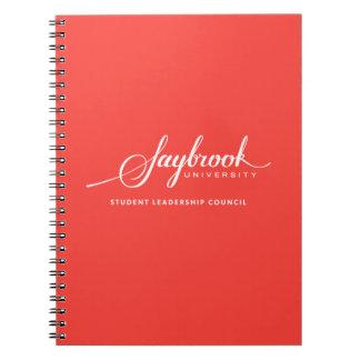 Saybrook学生の幹部会議のノート ノートブック