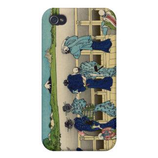 Sazaiホールの500 Rakan、Hokusaiの寺院 iPhone 4/4Sケース