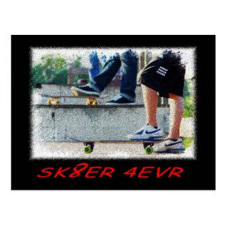 SBA103.SK8ER 4EVR. ポストカード