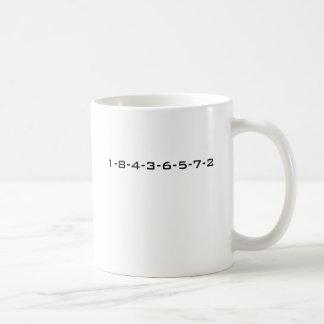 SBCの点火順序 コーヒーマグカップ