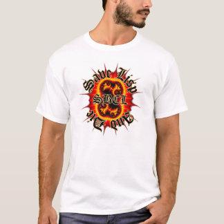 SBCLのインフェルノのフラクタルの白のティー Tシャツ