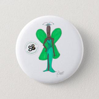 SBMの擬似有名人の緑の魅力的なファッションボタンPin 5.7cm 丸型バッジ