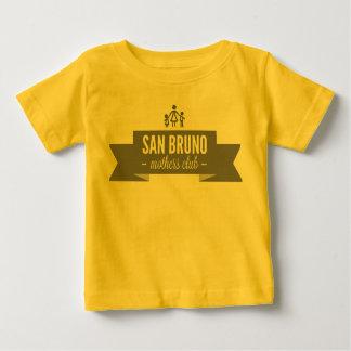 SBMCの前部ロゴ ベビーTシャツ