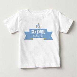 SBMC前部色のロゴ ベビーTシャツ