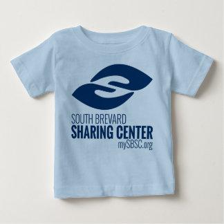 SBSCのロゴのベビーのティー ベビーTシャツ