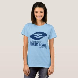 SBSCのロゴの女性基本的なティー Tシャツ