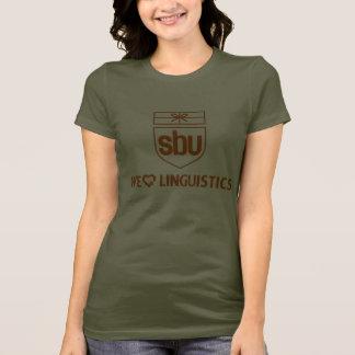 SBU私達<3言語学 Tシャツ