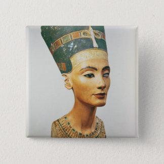 scのスタジオからの女王のNefertitiバスト、 5.1cm 正方形バッジ