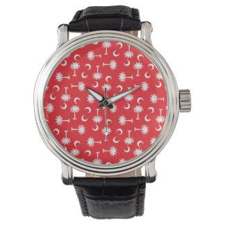 SCのパルメットの月の赤 腕時計