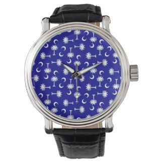 SCのパルメットの月Y SC Blue.png 腕時計
