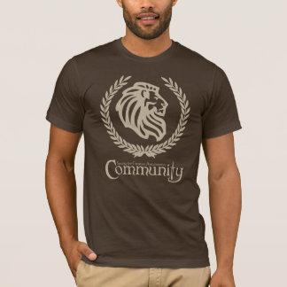 SCAのコミュニティブラウンのTシャツ Tシャツ