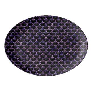 SCA3 BK-PRの大理石 磁器大皿