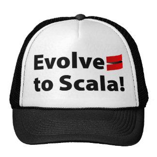 Scalaの帽子は、ロゴを展開させます キャップ