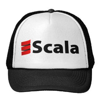 Scalaの帽子、黒いロゴ キャップ