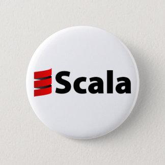 Scalaボタン、Scalaのロゴ 缶バッジ