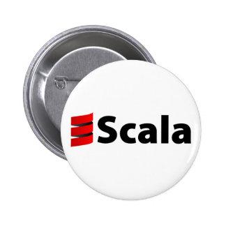 Scalaボタン、Scalaのロゴ 5.7cm 丸型バッジ