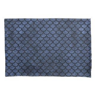 SCALES1黒い大理石及び青石(R) 枕カバー